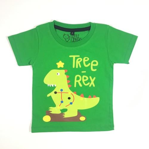 Foto Produk Kaos Natal Anak Anak Unisex   L033 - Christmas Tee - SMALL dari Little Jergio