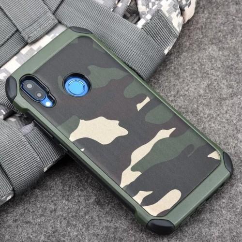 Foto Produk Case Loreng TNI Realme 3/ 3 Pro Tentara Soft+Hardcase Cover dari Nucleo Online Shop