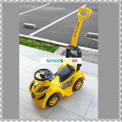 Foto Produk mobil dorong duduk anak yotta spr sang pengejar baru - Kuning dari Mykidshop89
