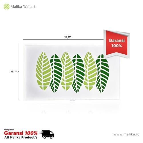 Foto Produk Hiasan Dinding Mangoo Leaf Composition dari malikawallart