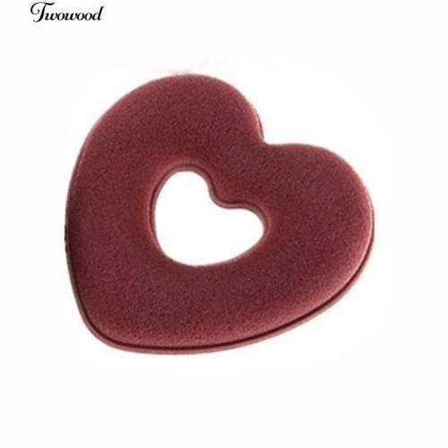 Foto Produk Heart Donut Shaped Bun Wraps Hair Clip Set Hair Updo Maker Sponge dari GN SHOP 1