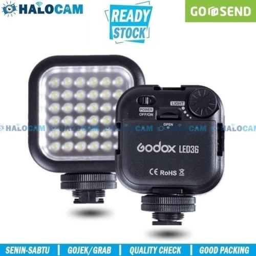 Foto Produk GODOX 36LED - LED Flash Kamera Foto Video CANON NIKON SONY FUJIFILM dari HALOCAM