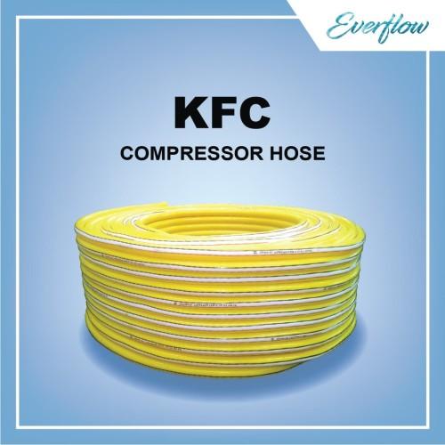 Foto Produk Selang Angin kompresor Kemanflex 5/16 inch with Fitting 20 mtr Tebal dari Toko Everflow