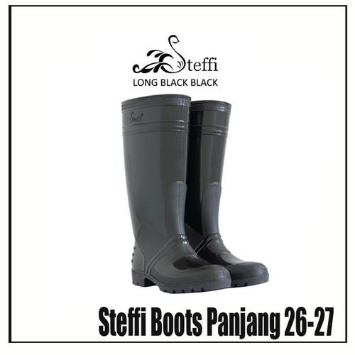 Foto Produk Steffi Boots Panjang 40-44 / Sepatu Karet Tahan Air Kerja Proyek - 27 dari Fanie shoes