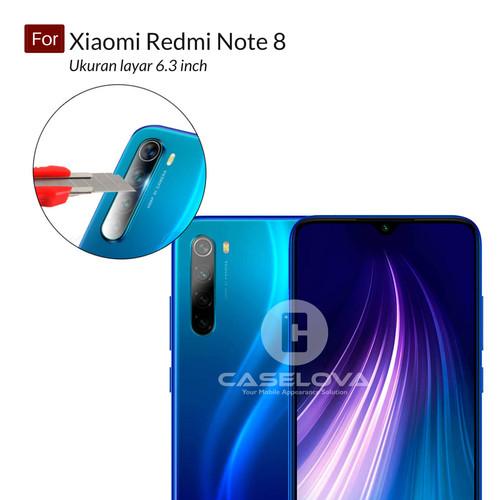 Foto Produk Pelindung Kamera Xiaomi Redmi Note 8 (6.3 inch) Tempered Glass Camera - Bening dari Caselova Store
