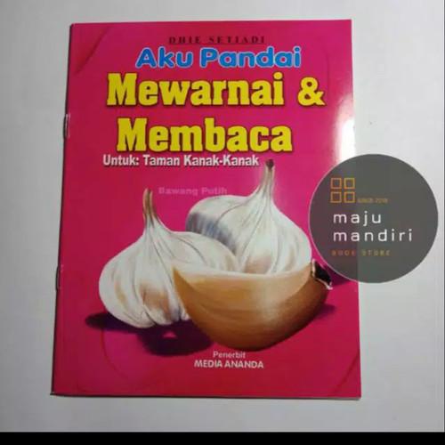 Foto Produk Buku Aku Pandai Mewarnai dan Membaca utk TK/PAUD dari Maju Mandiri 88