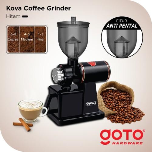 Foto Produk Mesin Giling Biji Kopi Coffee Maker Grinder Listrik Electric Hitam dari GOTO Hardware