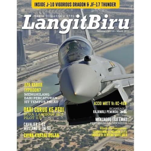 Foto Produk Majalah Langit Biru 'spesial' Volume I No 9 Tahun 2019 dari Airspace Review