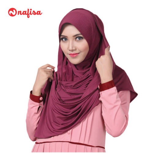 Foto Produk Nafisa Ibillia | Hijab Instan Pasmina | Jilbab bergo modis dari Nafisa