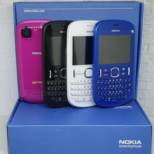 Foto Produk HP/Handphone Nokia Asha 201 Ori New Repurbish - Hp Mulus Fulshet (A) dari Imirlis Shop