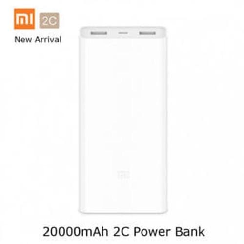 Foto Produk Xiaomi Powerbank Mi 2C 20000mAh Quick Charging 3.0 Original - Putih dari VN.Store