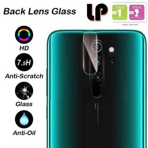 Foto Produk LP Camera Tempered Glass Xiaomi RedMi Note 8 Pro - Cover Lensa Lens dari Logay Accessories