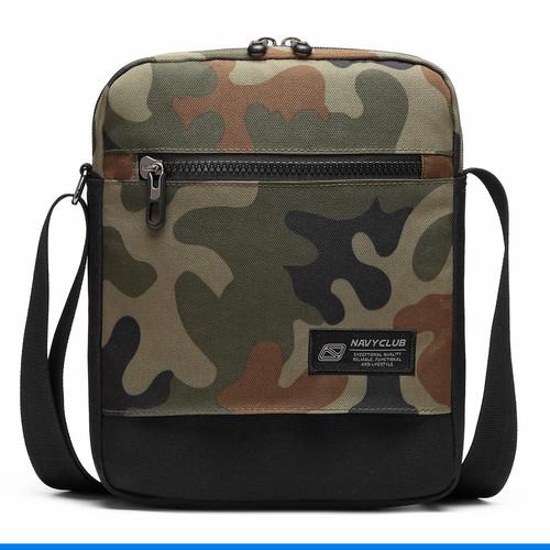 Foto Produk Navy Club Tas Selempang - Tas Pria Sling Bag Tablet up to 10 inch IAH - Hijau dari Navy Club Official Store