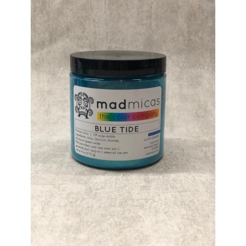 Foto Produk Mica Powder Blue Tide Mad Micas / Pewarna Sabun Premium / USA Imported dari Soaplab.id