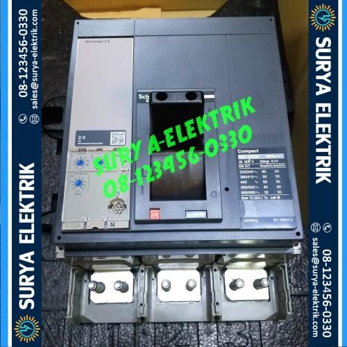 Foto Produk SCHNEIDER MCCB NS1250N NS1250 N NS 1250 N 1250A 1250 A 3P 50kA 33478 dari SURYA-ELEKTRIK