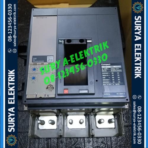 Foto Produk MCCB NS1250N NS1250 N NS 1250 N 1250A 1250 A 3P 50kA SCHNEIDER 33478 dari SURYA-ELEKTRIK