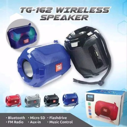 Foto Produk Speaker Bluetooth Portable Led TG162 dari PINZY Official Store