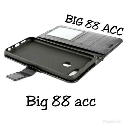 Foto Produk flip cover OPPO A5S - Wallet leather case kulit dari BIG 88 ACC