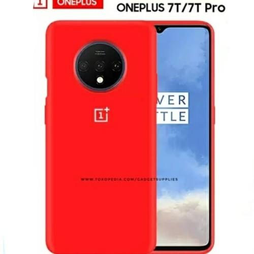 Foto Produk OnePlus 7T Case Original RED One Plus Sarung Soft Hard Silicon dari JUALGADGETS