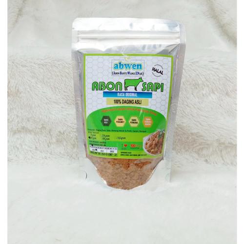 Foto Produk Abon Sapi Abwen Pedas Manis Daging Asli 100gr - Manis dari ABWEN