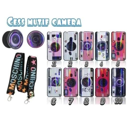 Foto Produk Case MOSCHINO Camera Oppo Realme C2 Softcase Camera Stripe dari scorpionacc_12