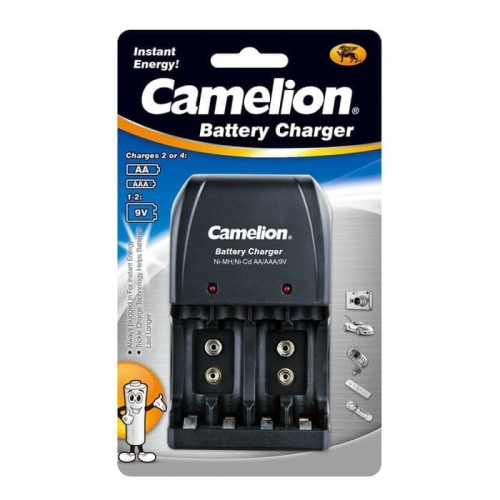 Foto Produk Charger Baterai AA AAA dan 9V Camelion dari Data Point Cellindo
