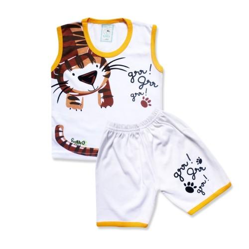 Foto Produk WakaKids Singlet Bayi Sweet Tiger Usia 6 bulan - 3 tahun 2840 Everyday - Navy, XL dari wakakids