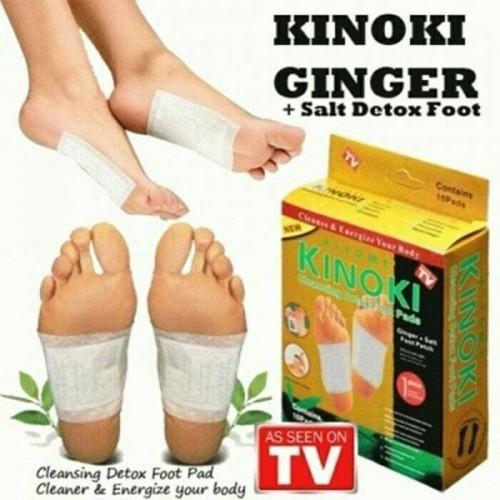 Foto Produk KINOKI GOLD Jahe Ginger Salt Koyo Kaki Detox Herbal food pad penyerap dari paffie shop