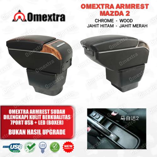 Foto Produk Armrest Mazda 2 2007 to 12 Console Box Mazda 2 Armrest Box Mazda USB dari OMEXTRA