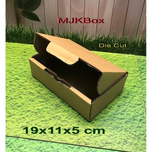 Foto Produk Kardus karton box Uk. 19x11x5 cm....DIE CUT dari MJKbox