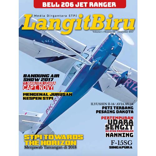 Foto Produk Majalah Langit Biru edisi Vol I Nomor 3 dari Airspace Review