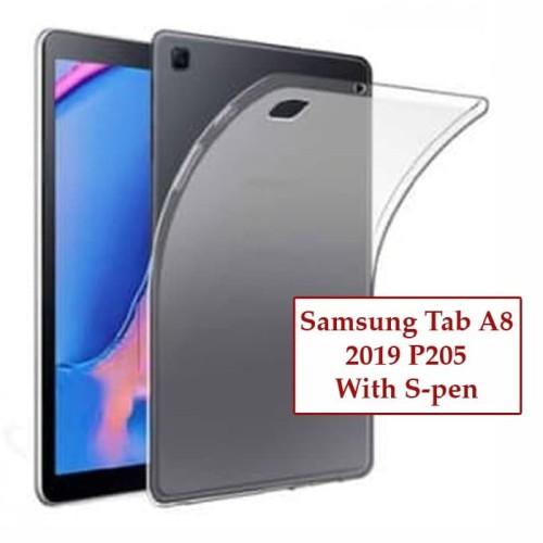 Foto Produk Samsung Tab A8 A 8 Inch 2019 P205 Silikon Case Casing Clear Softcase dari Case Ocean