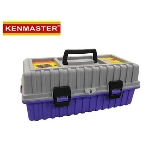 Foto Produk Kenmaster Tool Box 17 Inch 2 Susun - Toolbox Heavy Duty dari Acckomputer
