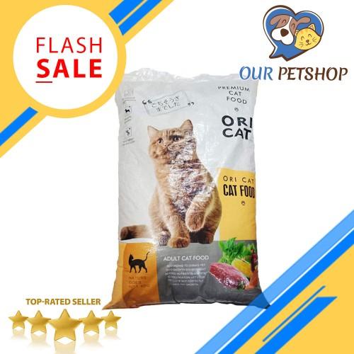 Foto Produk MAKANAN KUCING ORI CAT FOOD PREMIUM ORICAT 1 KG promo - BENTUK IKAN dari OUR PETSHOP