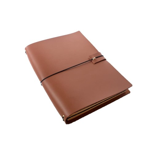 Foto Produk Midory traveler's notebook / buku catatan dari Empat Pagi Handmade