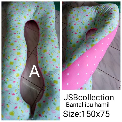 Foto Produk 1 bantal hamil + 2 sarung dari jsb collection