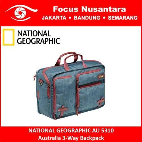 Foto Produk NATIONAL GEOGRAPHIC AU 5310 Australia 3-Way Backpack dari Focus Nusantara