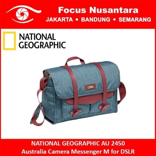 Foto Produk NATIONAL GEOGRAPHIC AU 2450 Australia Camera Messenger M for DSLR dari Focus Nusantara