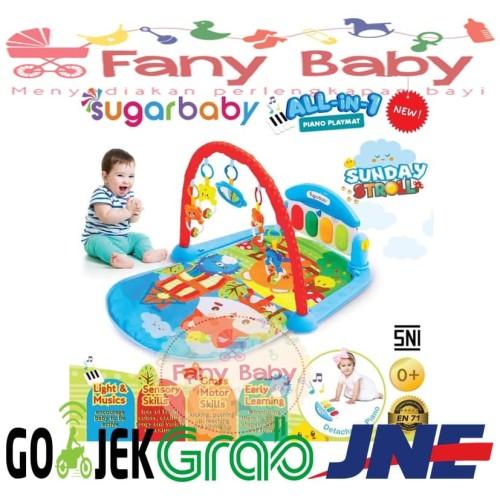 Foto Produk Sugar Baby ALL in 1 Piano Playmat - Pink dari Fany Baby ITC Kuningan