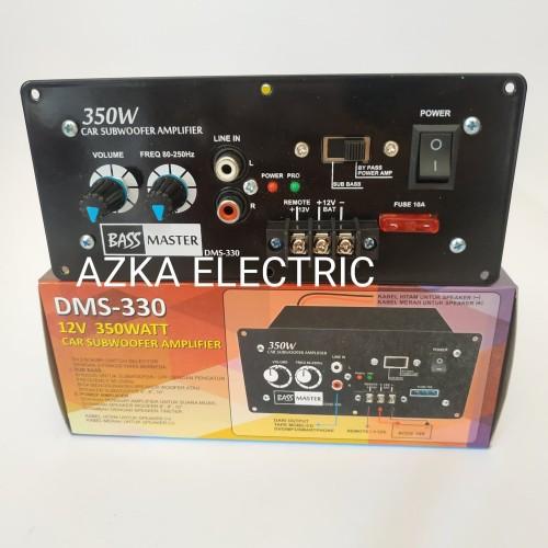 Foto Produk Kit Power Amplifier Subwoofer Monoblok Mobil DMS 330 dari Azka Electric