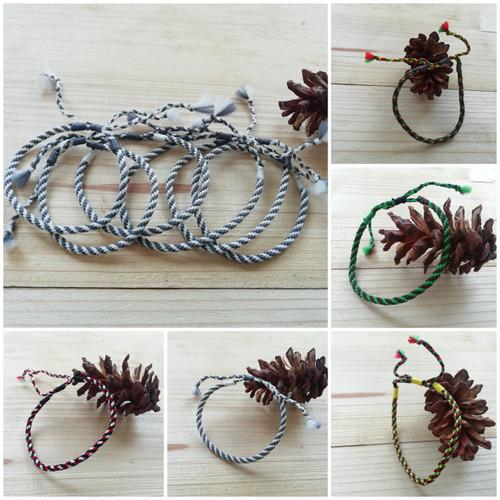 Foto Produk Gelang Etnik Anyam Handmade tali nylon dari MTMA_STUFF