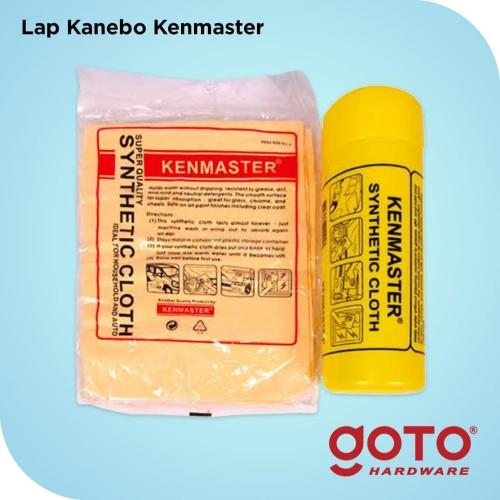 Foto Produk Lap Kanebo Kenmaster Jumbo Besar Super Plas Chamois AION Mobil Motor dari GOTO Hardware