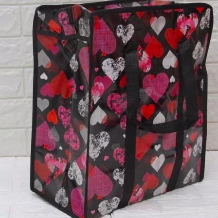 Foto Produk TAS KARUNG Versi KECIL nya JUMBO 40 x 45 x 19 CM Tas Laundry Bag dari DENOK CELL