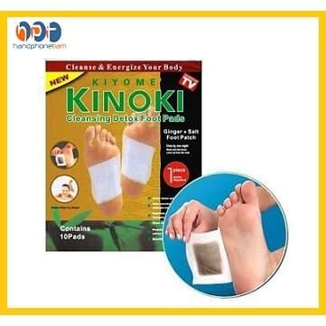 Foto Produk Kinoki Gold Detox Foot Ginger Koyo Jahe Kesehatan Pendetox Racun Kaki dari HandphoneTiam