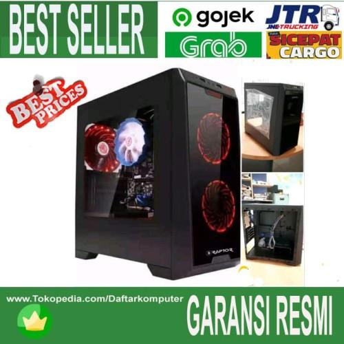 Foto Produk Casing Gaming Raptor 1501 Black strike dari daftar harga komputer
