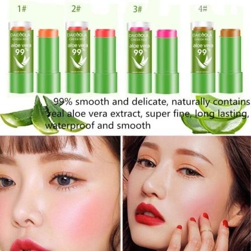 Foto Produk Blush On Stick Cheek Red Daiduola Aloe Vera 99% Pemerah Pipi Merah dari Bursa Cosmetik Murah