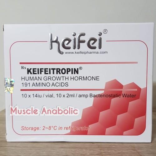 Foto Produk HGH Keifeitropin 140IU 14 IU per Box Keifei Somatropin HGH Soma tropin dari Muscle Anabolic