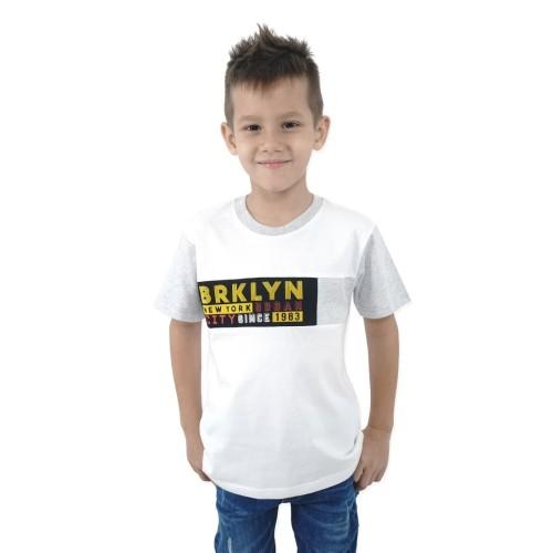 Foto Produk KIDS ICON - Kaos Anak Laki - laki Colours with Printing - CL301400190 - 10-11 tahun dari Kids Icon