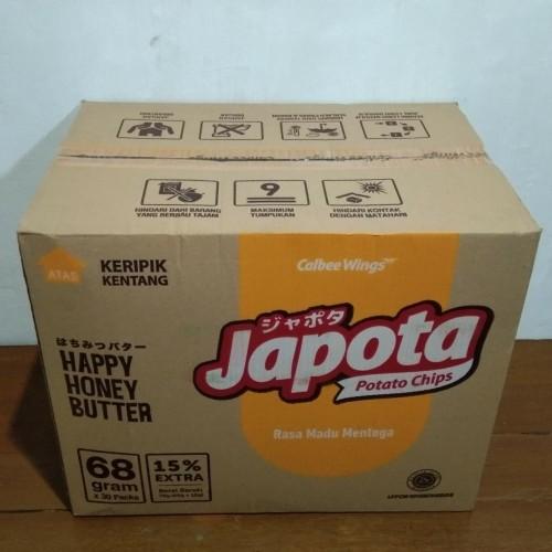 Foto Produk Keripik Japota Potato Chips Happy Honey Butter - 68 gr dari M2F2 Shop