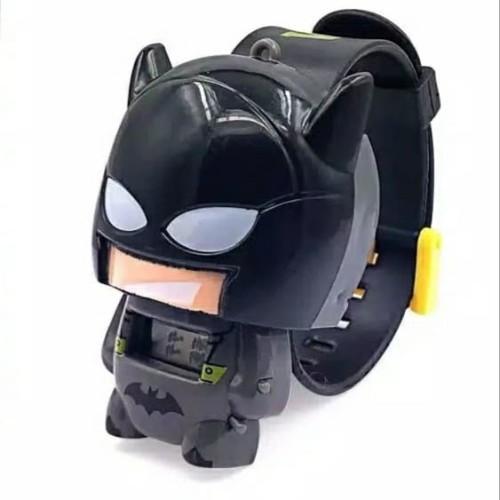 Foto Produk Jam Tangan Anak Murah - Jam Tangan Anak Karakter Robot Superhero Lucu - Batman dari Grosir Snack - Dinochan
